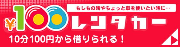 カ-オーナーズの100円レンタカー
