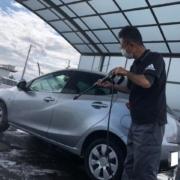 マツダ デミオ 洗車